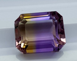 7.25CT BOLIVIAN AMETRINE BEST QUALITY STONES IGCAMCB34