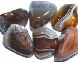 131 CTS BANDED AGATE PARCEL CTS ADG-352