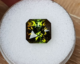 7,24ct Bi-coloured Tourmaline - Master cut!