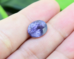 Natural Untreated RARE Cobalt Blue Spinel 4.18 Ct.(00741) *Violet*