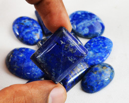 Genuine 255.00 Cts Blue Lapis Lazuli Gems Lot