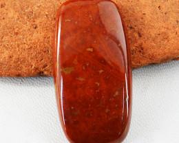 Genuine 60.00 Cts Red Jasper Gemstone