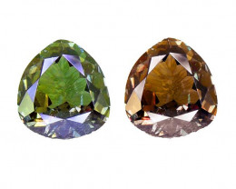 Ceylon Alexandrite Untreated Good GREEN to GOOD RED Colour Change  0.46 Ct.