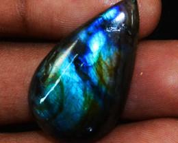 Genuine 25.00 Cts Blue Flash Labradorite Gemstone