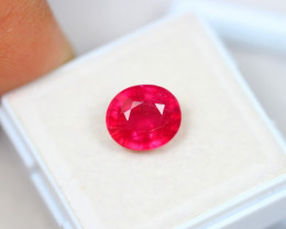 4.08Ct Pink Ruby Oval Cut Lot Z426