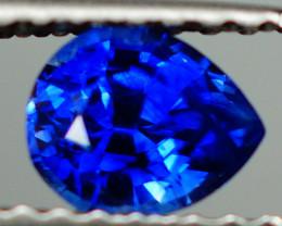 0.62 CT ROYAL BLUE !!! EYE CLEAN CUSTOM CUT SAPPHIRE