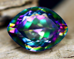 2.67Ct Natural Peacock Mystic Topaz Marquise Cut Lot A805