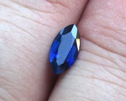 0.96cts Natural Australian Blue Sapphire Marquise Cut