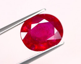 8.08ct Mozambique Ruby Oval Cut Lot A470
