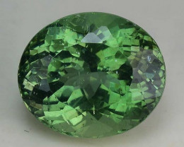 2.41 Cts Green  Apatite ~ Awesome Color and Luster ~ Untreated AP34