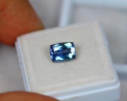 2.21ct Blue Tanzanite Octagon Cut Lot A479