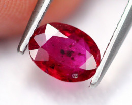 0.99Ct Natural Burmese Pigeon Blood Red Ruby Heated Only ~ E1709