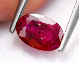 1.04Ct Natural Burmese Pigeon Blood Red Ruby Heated Only ~ E1713