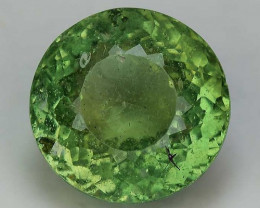 3.26 Cts Green Apatite ~ Awesome Color and Luster ~ Untreated AP40