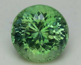 2.16 Cts Green Apatite ~ Awesome Color and Luster ~ Untreated AP44