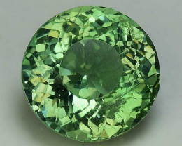 2.23 Cts Green Apatite ~ Awesome Color and Luster ~ Untreated AP45