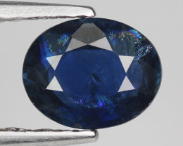 0.76 Crt Natural Blue Sapphire Good Quality Faceted Gemstone.BS 1