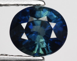 0.78 Crt Natural Blue Sapphire Good Quality Faceted Gemstone.BS 4