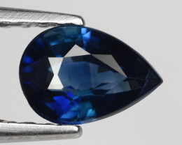 0.62 Crt Natural Blue Sapphire Good Quality Faceted Gemstone.BS 5