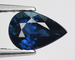 0.80 Crt Natural Blue Sapphire Good Quality Faceted Gemstone.BS 9