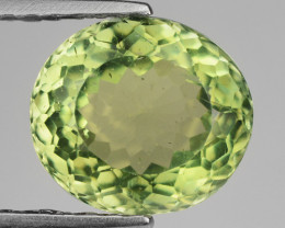 2.04 Ct Green Apatite Good Luster Gemstone AP18