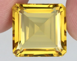 ⭐ 17.40ct BRIGHT GOLDEN YELLOW TONED CITRINE  - no reserve!