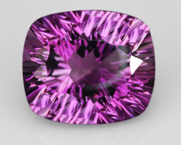 VVS 9.5Ct Master Cut Purple Brazilian Amethyst AAA+ Quality
