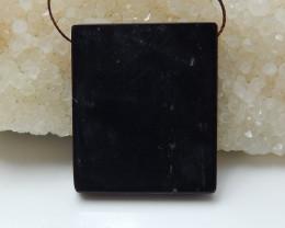 Multi color jasper ,obsidian intarsia pendant  healing stone B20