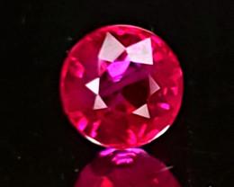 .58ct Burma Ruby Round