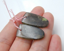 New Labradorite Earring pairs  , Matching Cabochons, Healing Stone B21
