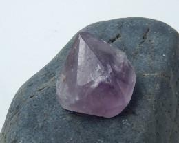 New Triangle Amethyst  cabochon bead for desinger purple stone B27