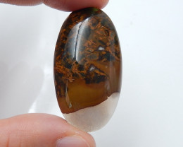 Warm sell 67ct Agate Natural Gemstone Super Quality Cabochon B35