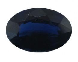 0.51 ct Oval Blue Sapphire  (Deep Darkish Blue)