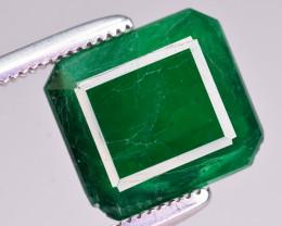 2.75  Ct Brilliant Color Natural Swat Emerald
