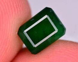 1.35  Ct Brilliant Color Natural Swat Emerald