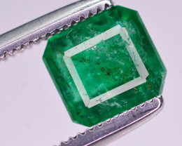 1.15  Ct Brilliant Color Natural Swat Emerald
