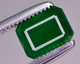 1.25 Ct Brilliant Color Natural Swat Emerald