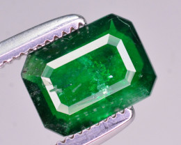 0.65 Ct Brilliant Color Natural Swat Emerald