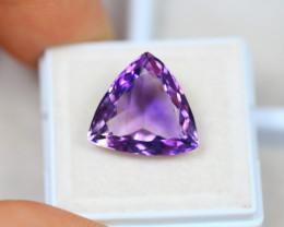 8.04ct Purple Amethyst Trillion Cut Lot V3157