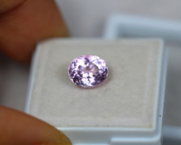 2.52Ct Lavendar Color Kunzite Oval Cut Lot E29