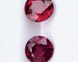 2.7cts Very beautiful Rhodolite Garnet Gemstones