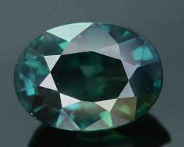 Lovely 1.22 ct Greenish Sapphire SKU.10