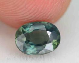 Lovely 1.17 ct Greenish Sapphire SKU.10