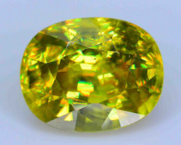 GiL Certified 3.06 ct AAA Brilliance  Sphene PR.H