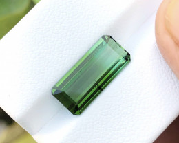 4.60 Ct Natural Greenish Blue Transparent Tourmaline Gemstone