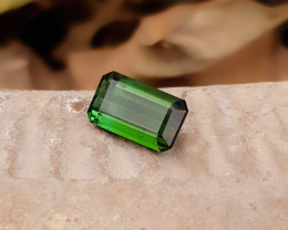 2.70 Ct Natural Dark Green Transparent Tourmaline Gemstone