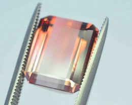 Top Quality 7 Cts Natural Bi Color Tourmaline Gemstones