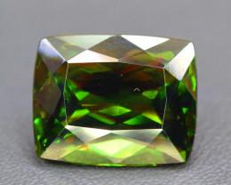 11.30 cts Natural Full Fire Chrome Sphene Titanite Gemstone