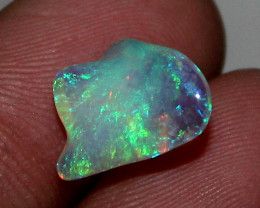 1.50 ct Natural Ethiopian Welo Fire Freeform Welo Opal Carvin 153