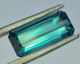 2.30 ct Natural Blue Indicolite Tourmaline , M